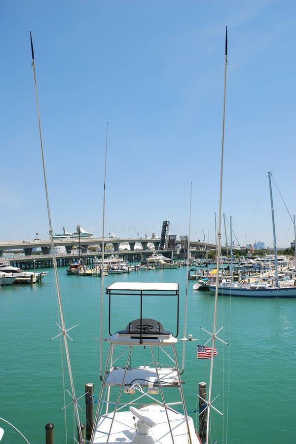 Free Fishing Boat Docked In Miami Royalty Free Stock Photos - 2343628