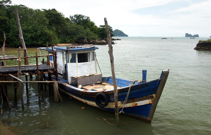 Fishing Boat Langkawi. Free Public Domain Cc0 Image