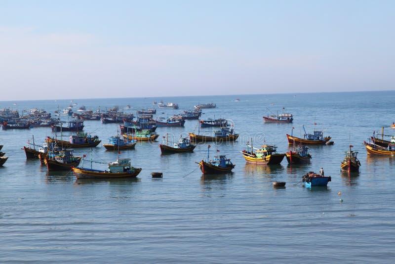 Fishing Boat at Muinea, Vietnam royalty free stock photos