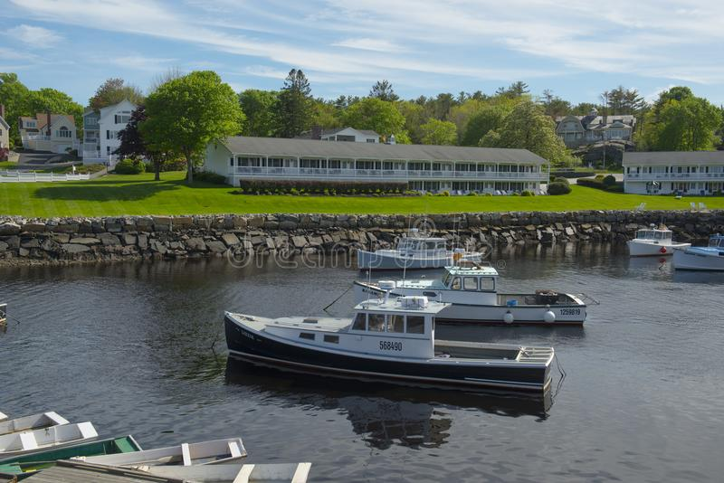 Fishing Boat in Ogunquit, ME, USA royalty free stock image