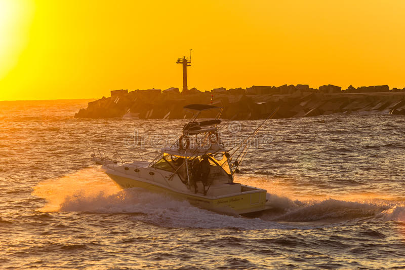 Fishing Boat Pier Sunrise Colors