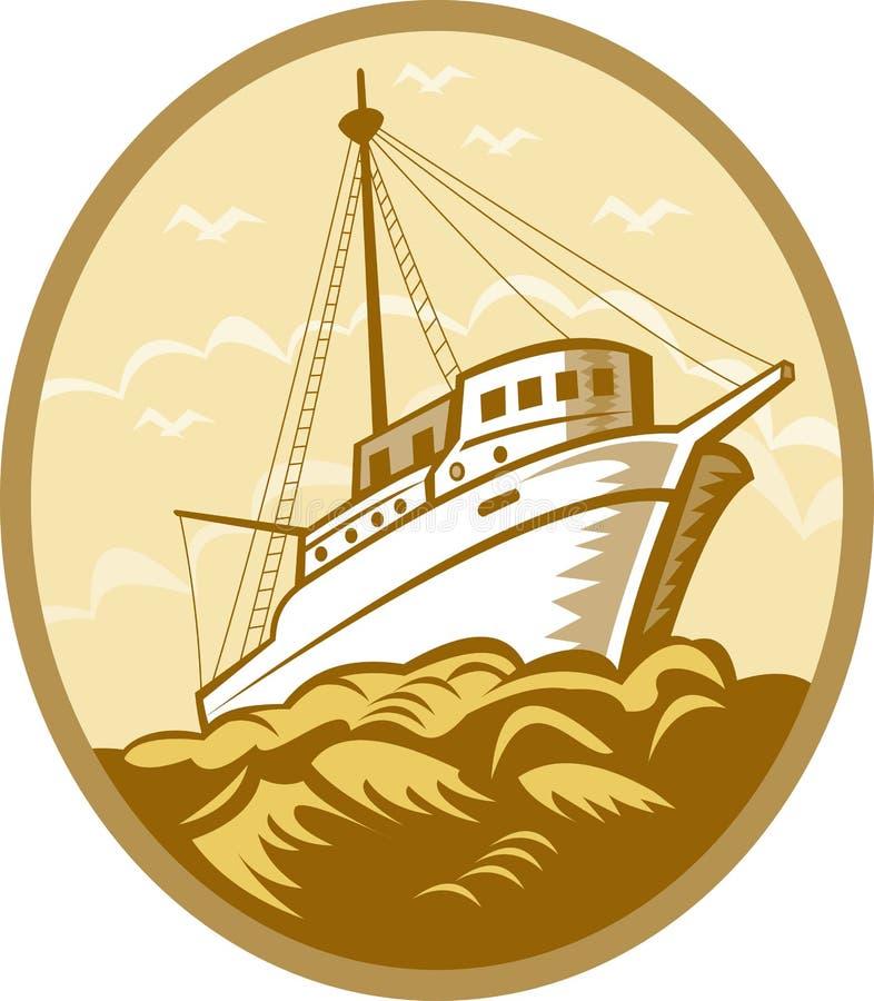 Free Fishing Boat Ship Royalty Free Stock Photography - 15950997