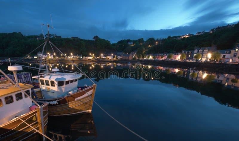 Download Fishing Boat At Tobermory Quay Stock Photo - Image: 9550154