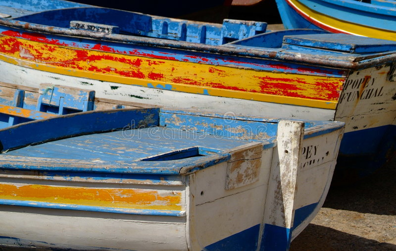 Download Fishing boats stock photo. Image of rowing, water, marine - 1240892