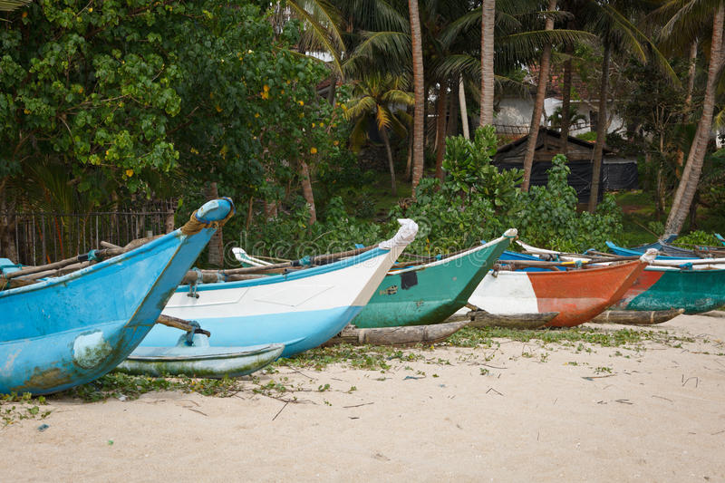Download Fishing boats on beach stock photo. Image of nobody, colorful - 18534860