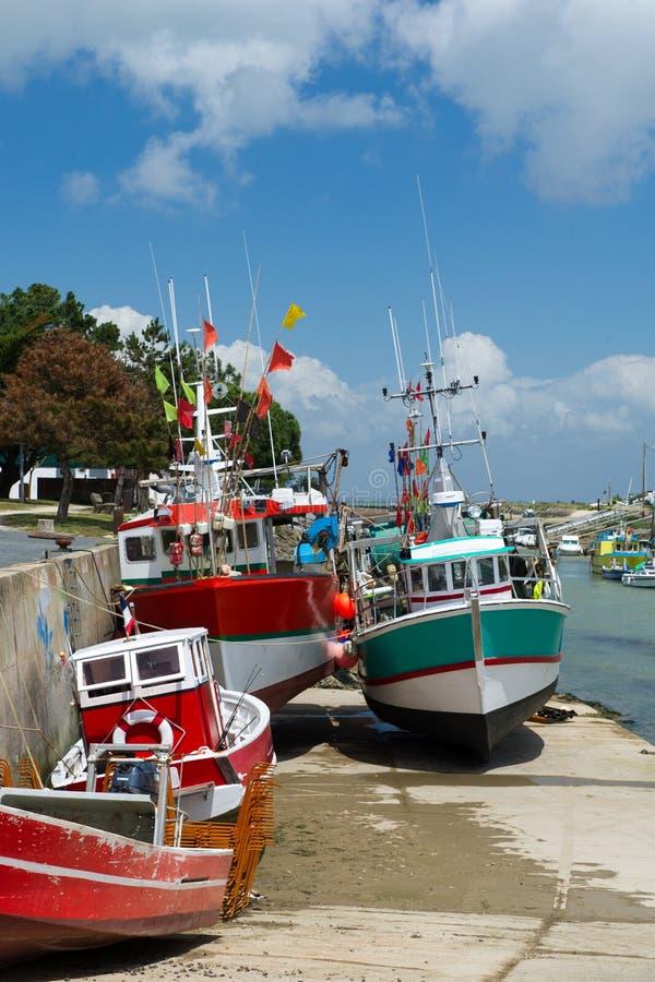Fishing Boats Boyardville France Stock Photography
