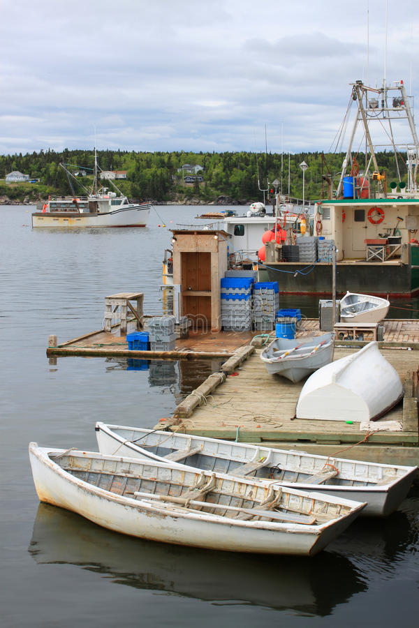 Download Fishing Boats In Dipper Harbour, NB Royalty Free Stock Photography - Image: 19828177