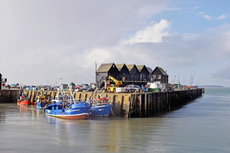 A harbour in Kent England. royalty free stock photo