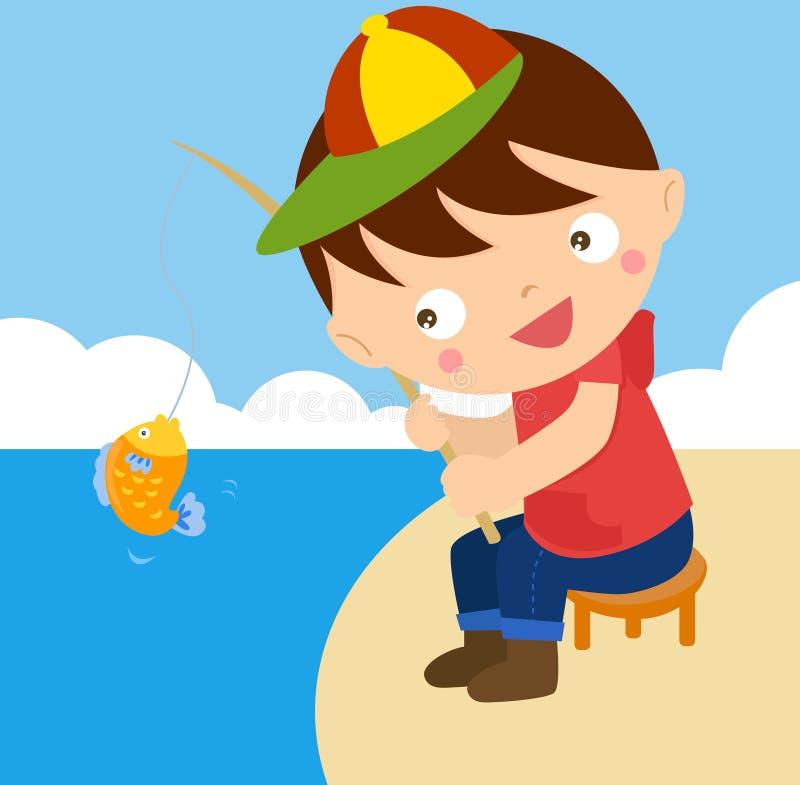 Download Fishing Boy Stock Photo - Image: 31873570