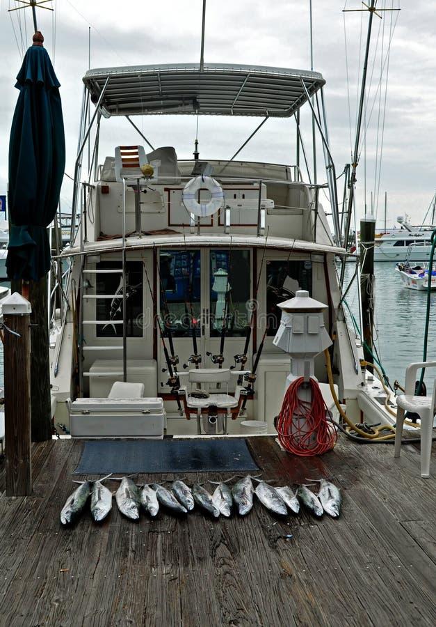 Fishing Charter, Key West Florida royalty free stock photography