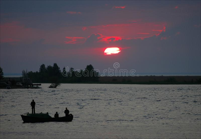 Download Fishing On A Decline. Stock Images - Image: 15753244