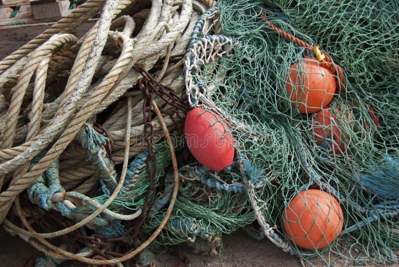 Fishing equipment stock photography