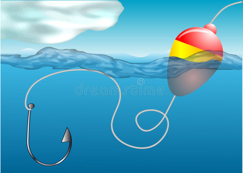Download Fishing float stock photo. Image of underwater, float - 31872408