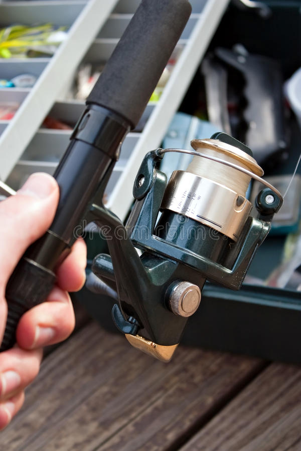 Download Fishing Gear stock image. Image of bass, hobbies, bait - 13906083