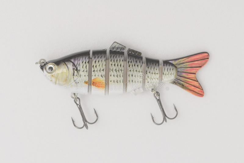 Fishing gear on a white background. stock photos