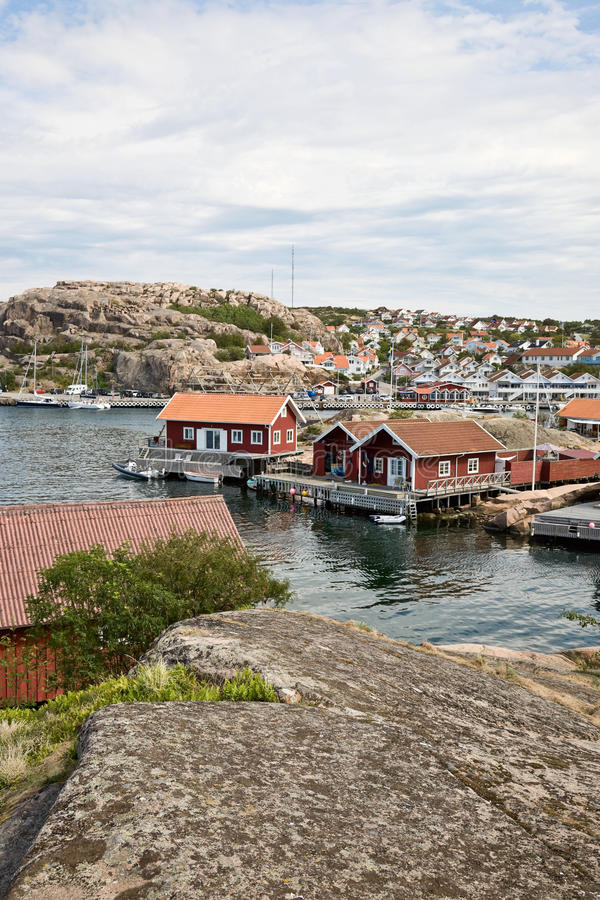 Fishing harbour royalty free stock image