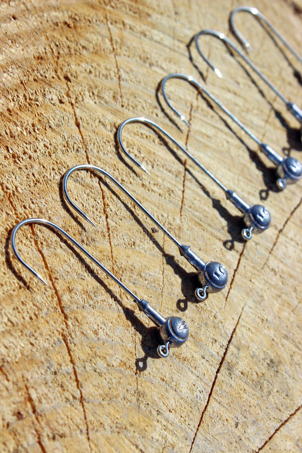 Download Fishing hooks stock photo. Image of gear, tackle, lead - 30792094