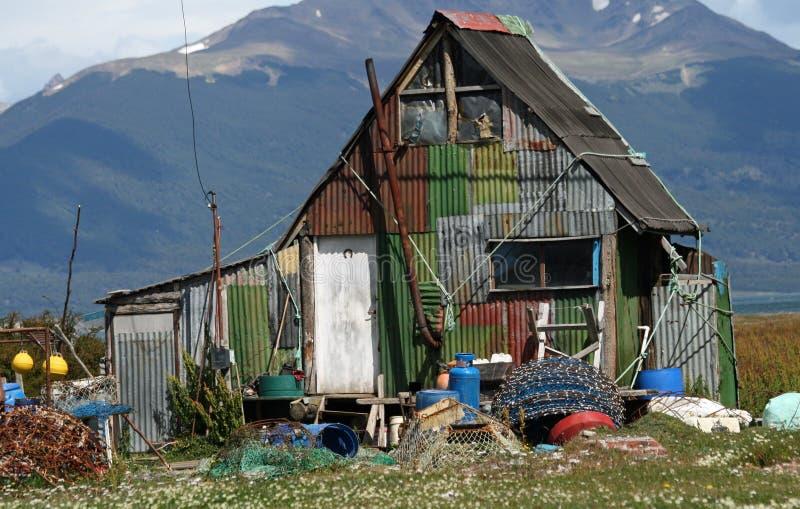 Fishing Hut royalty free stock images