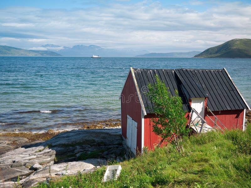 Download Fishing hut stock image. Image of scenery, scandinavia - 26542419