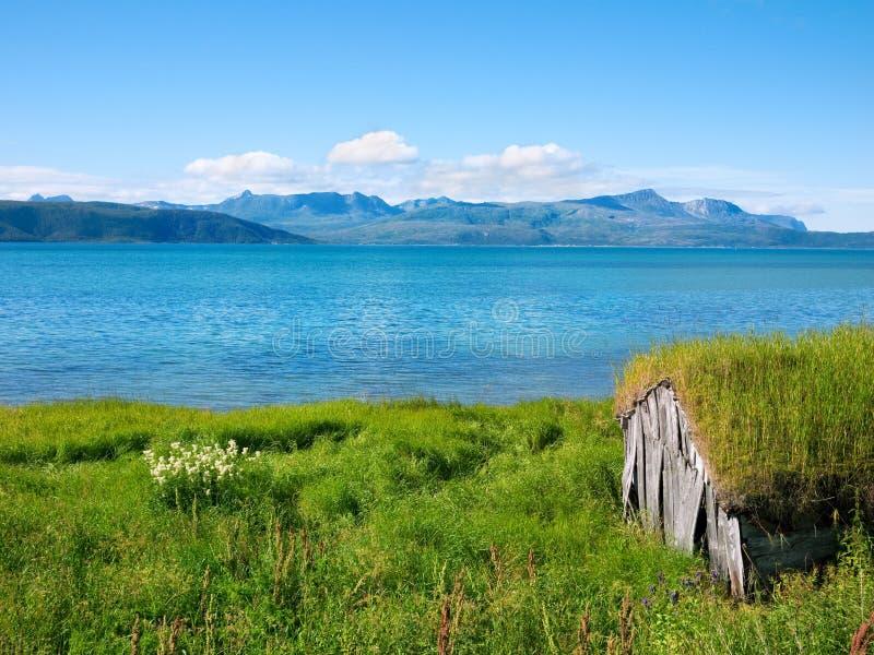 Download Fishing hut stock photo. Image of fishing, summer, scandinavia - 26542454