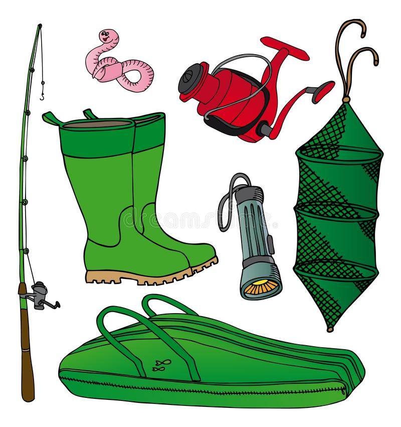 Free Fishing Icon Collection 2 Stock Image - 27822691