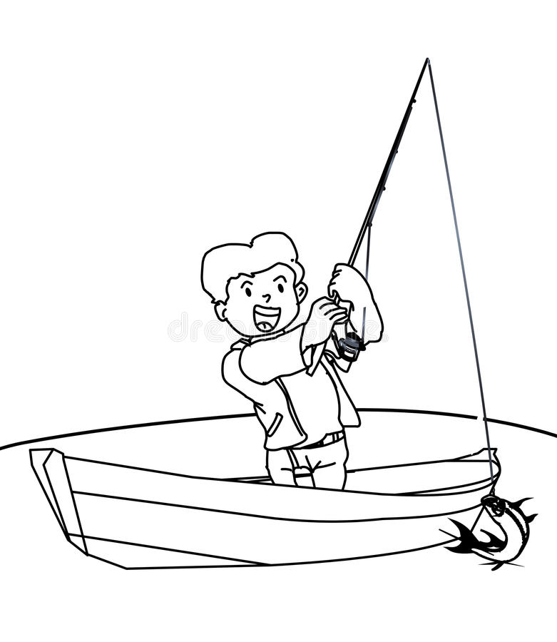 Fishing Kid Stock Illustrations 2 113 Fishing Kid Stock Illustrations Vectors Clipart Dreamstime