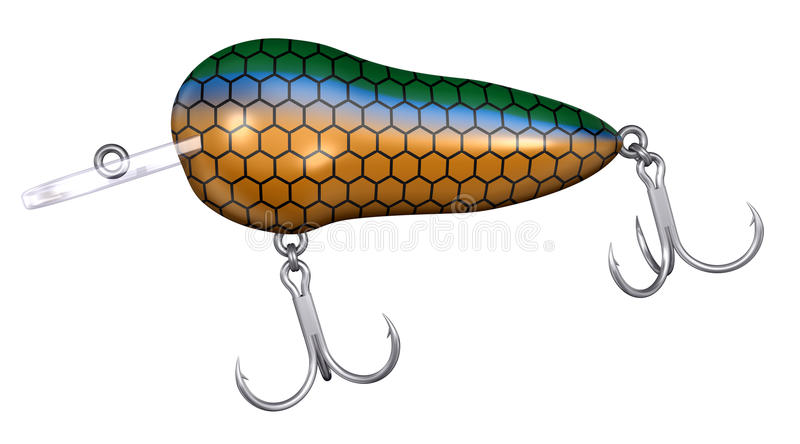 Download Fishing Lure stock illustration. Image of fishing, sport - 10466461