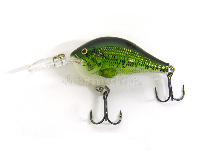 Fishing Lure royalty free stock image