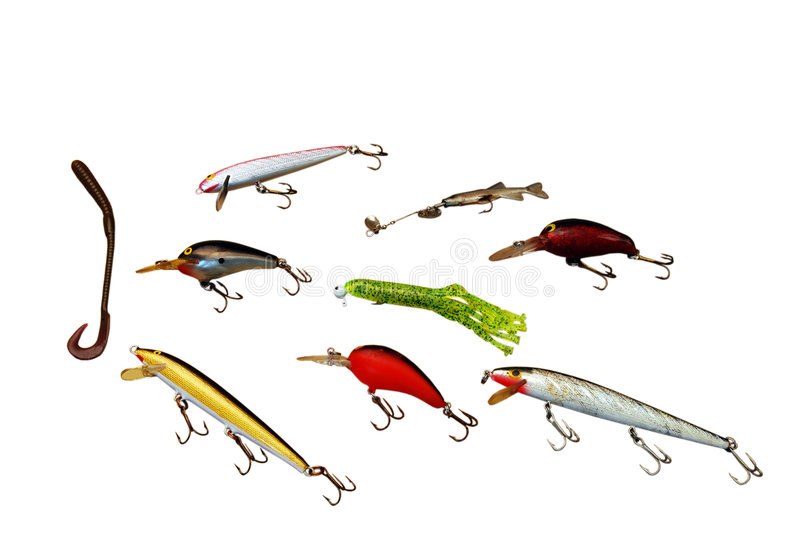 Download Fishing Lures stock photo. Image of plastic, color, worm - 2968416