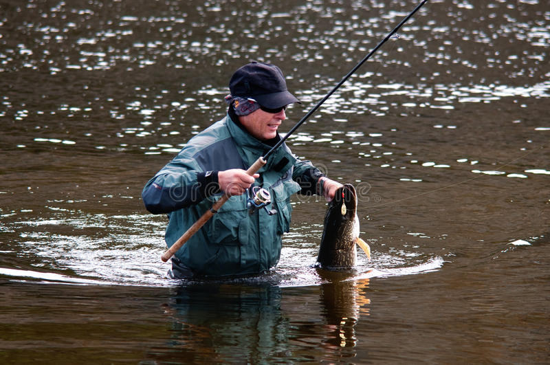 Download Fishing in Mongolia stock photo. Image of silence, sport - 23131746