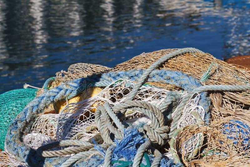 Download Fishing net stock image. Image of ocean, cord, grid, gear - 21234727