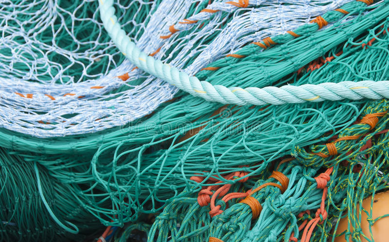 Download Fishing Net stock photo. Image of commercial, orange - 26558964