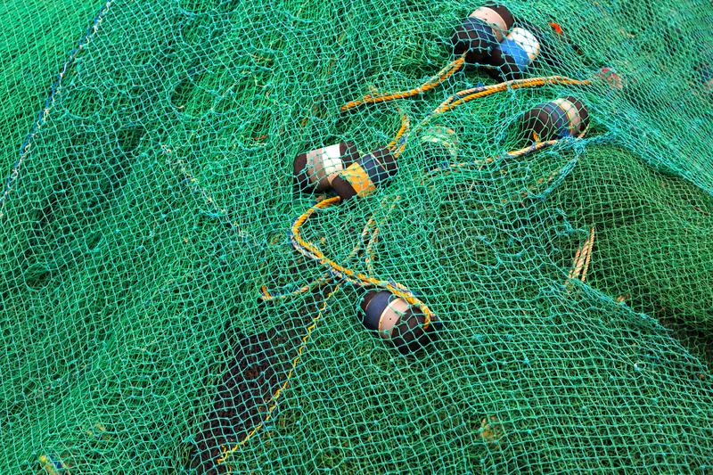 Fishing net closeup. Photo Knitted cages stock photos