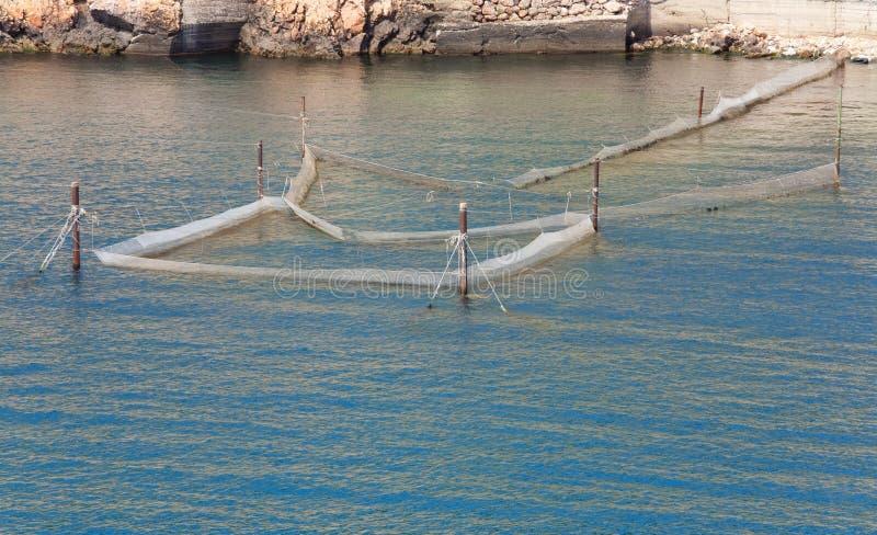 Download Fishing nets stock image. Image of meshes, coastal, wave - 12023273