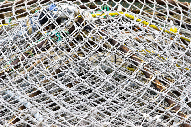 Download Fishing nets stock photo. Image of closeup, metal, traps - 5896474