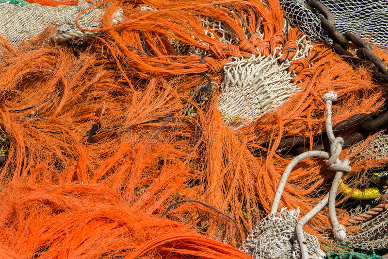 Download Fishing nets stock image. Image of plastic, rubbish, disposal - 33727039