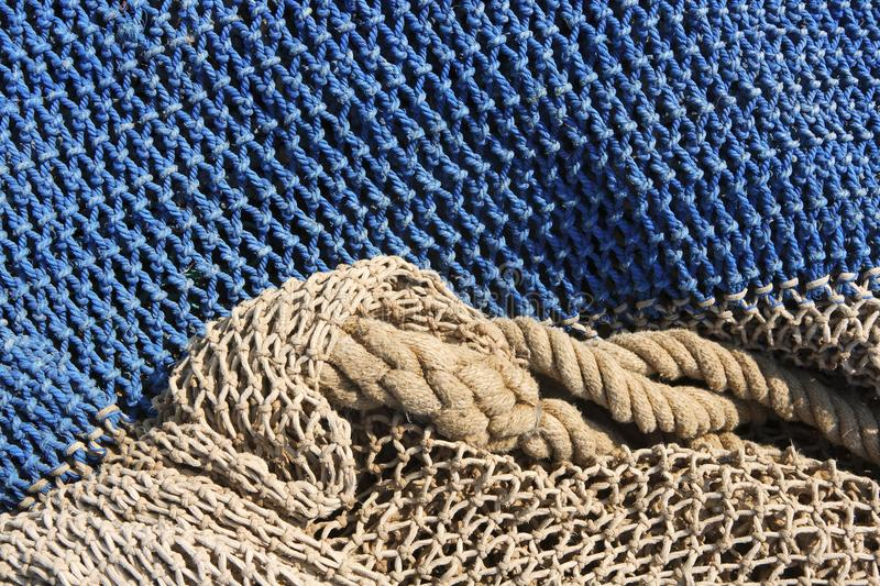 Download Fishing Nets Still Life Background Pattern Stock Image - Image: 14813835