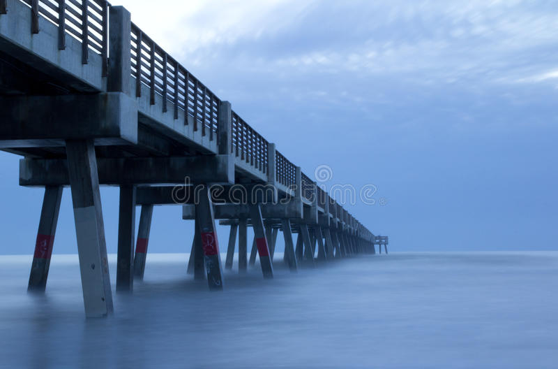 Download Fishing Pier stock photo. Image of ocean, foam, people - 24616404