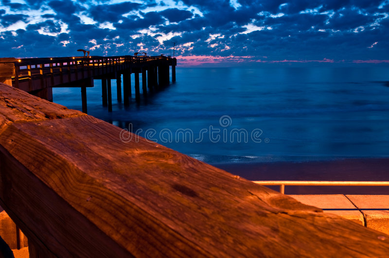 Download From the fishing pier stock image. Image of landscape - 9261545