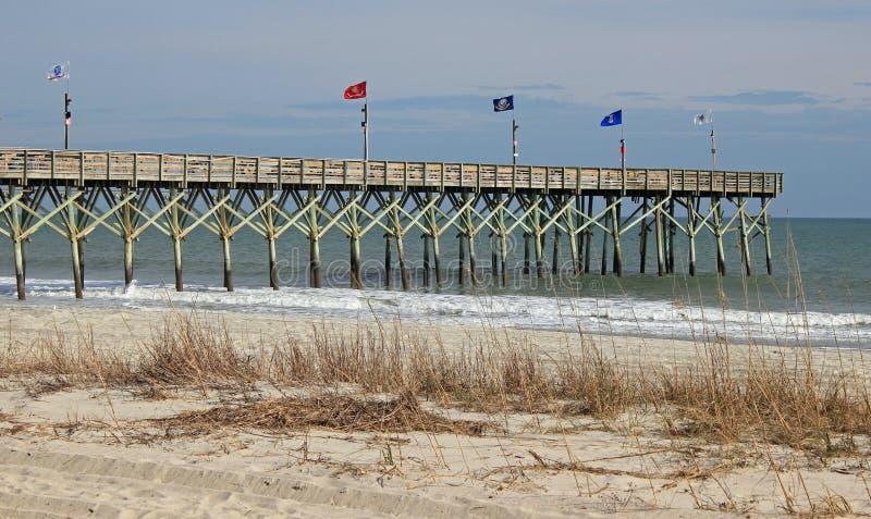 Myrtle Beach South Carolina Pier royalty free stock photography