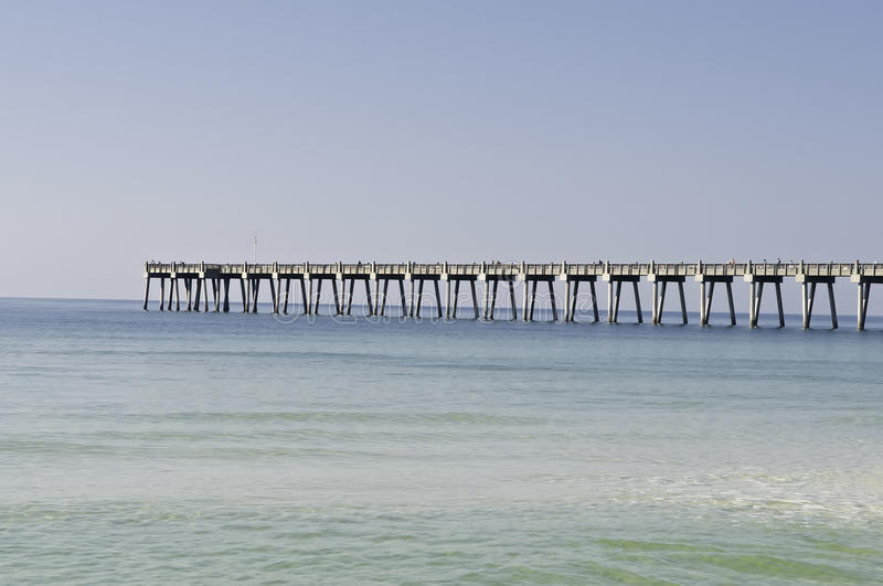 Fishing Pier In Pensacola Stock Photography