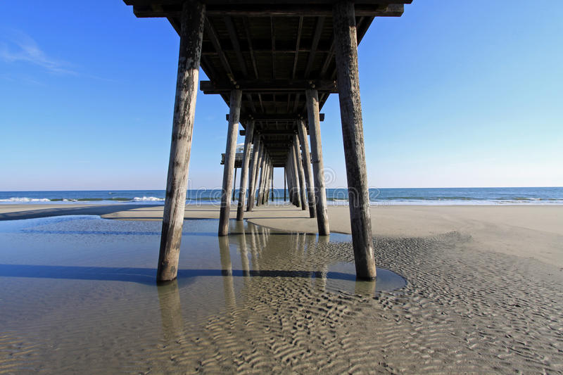 Fishing Pier royalty free stock photography