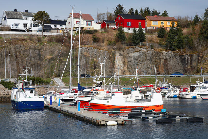 Fishing and pleasure boats in Norway