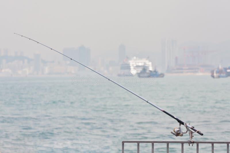 Download Fishing pole stock image. Image of norway, coast, reel - 24879211