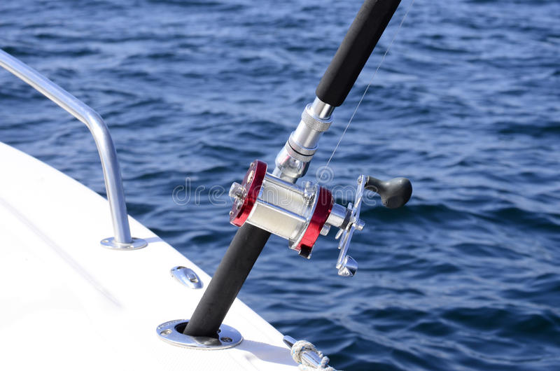 Download Fishing reel stock image. Image of pole, safety, spinning - 25308853