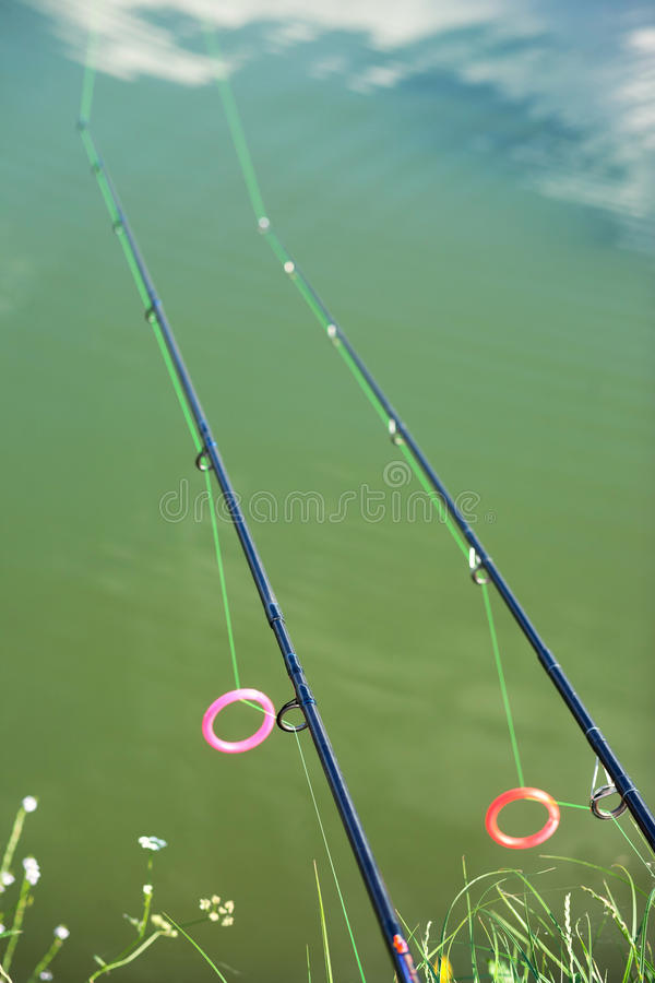 Fishing Rods Royalty Free Stock Photos