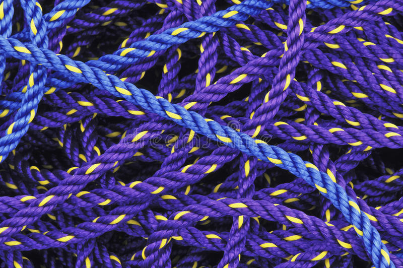 Download Fishing ropes stock image. Image of ropes, bright, pattern - 11657317