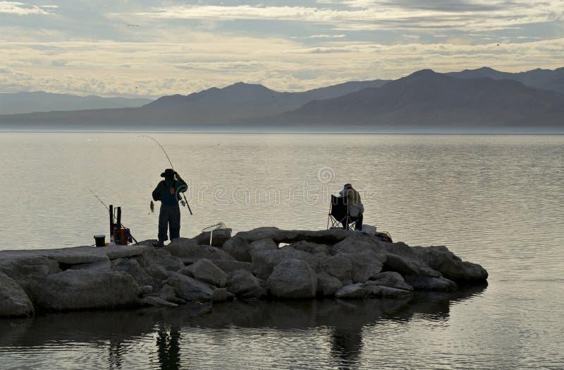Download Fishing At The Salton Sea Stock Photo - Image: 7971760