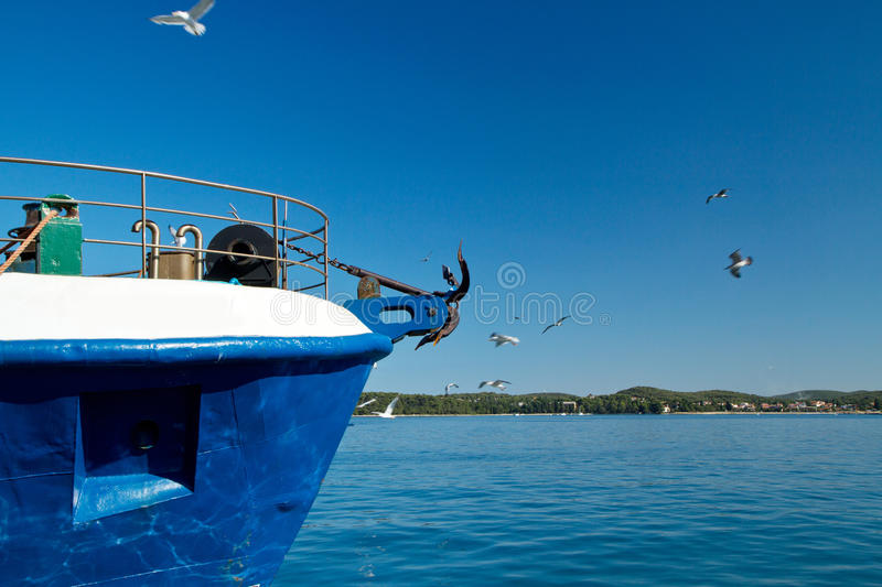 Download Fishing ship stock photo. Image of mast, deliver, fish - 25915440