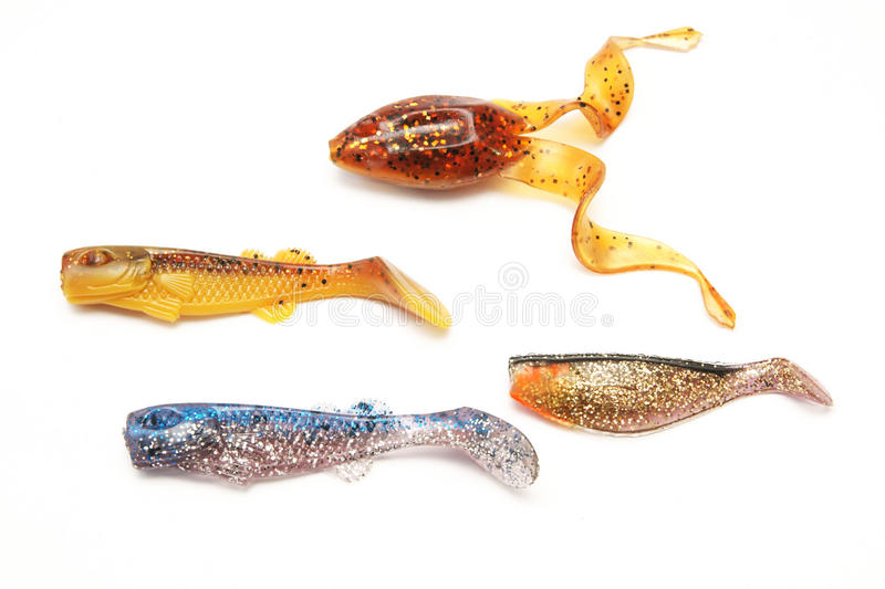 Fishing Spinning, bait, artificial lure. Fishing Spinning , bait, artificial lure stock images